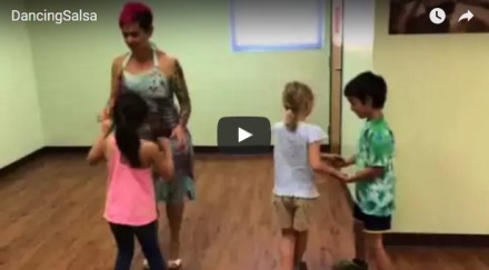 YPW Camps Spanish Immersion Day Camp – Video: Learning to Dance Salsa -