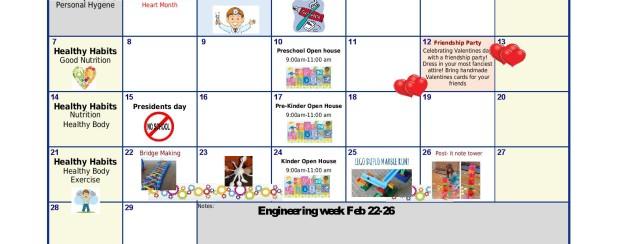 YPW Westlake Calendar & News Letter